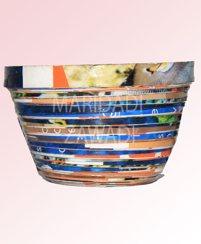 Recycled Paper Bowl Small