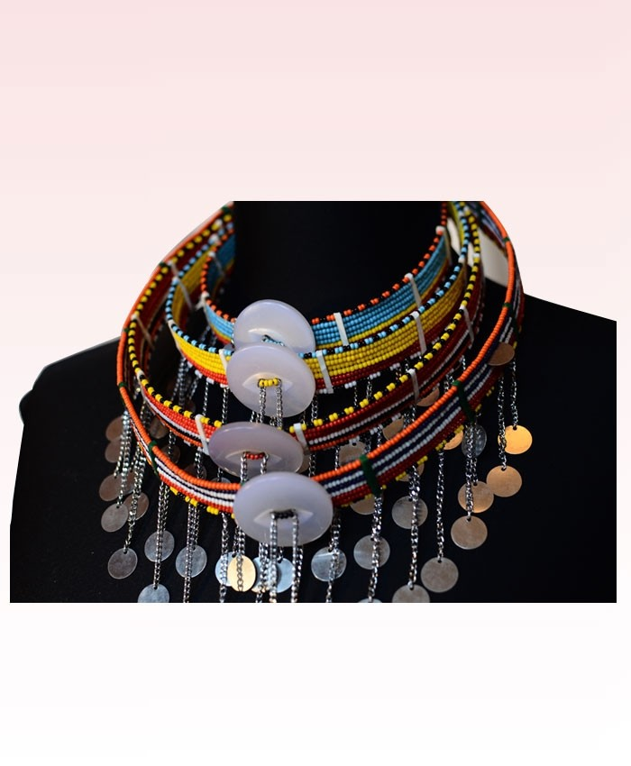 African Massai Traditional  Necklace