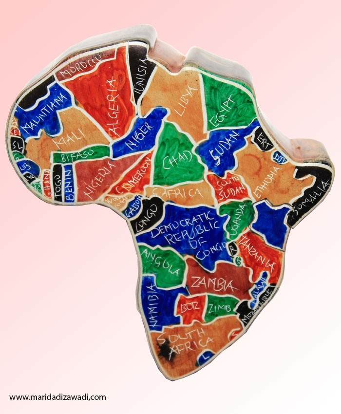 Jewelry Box Africa Map