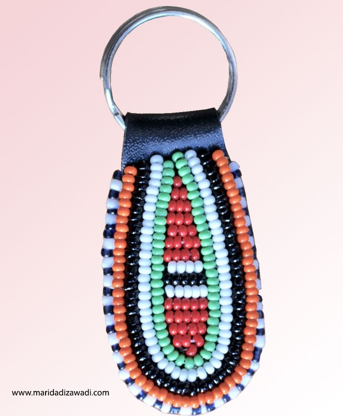 Maasai Bead Key Chain