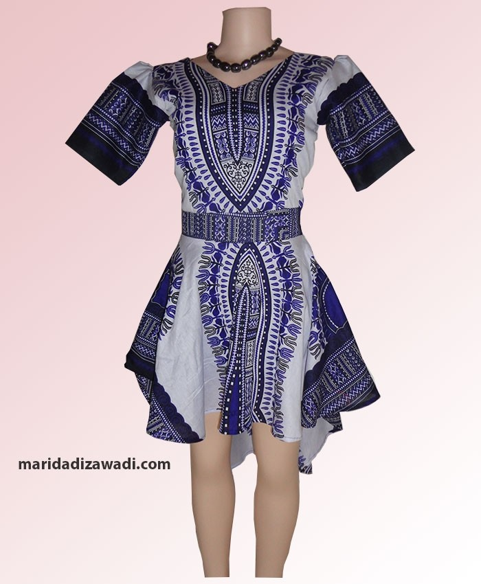 Tanzanian High Low Dress