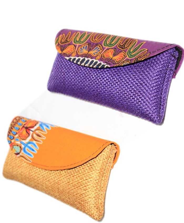 Woven Clutch Bag Small
